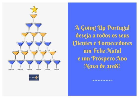 Postal de Natal Going UP Portugal 2017